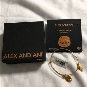 New Alex and Ani Sand Dollar bracelet
